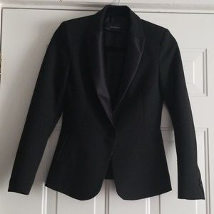 Zara Basic Tuxedo Blazer